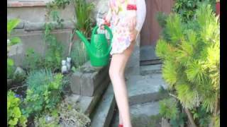 Nylons and Flowers squirting