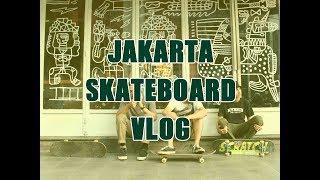 Jakarta Skateboard Vlog - Check Spot MeKun