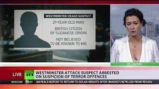 Westminster attack suspect arrested on suspicion of terror offences and attempted murder