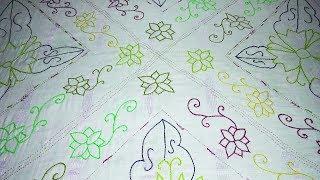 Bangladeshi nakshi kantha design 06