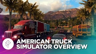 Playing American Truck Simulator in the dumbest way possible - Overview
