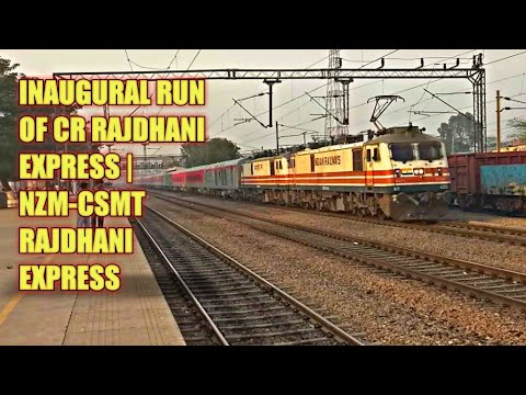 Xxx Mp4 INAUGURAL RUN OF CR RAJDHANI 22222 NZM CSMT RAJDHANI EXPRESS 3gp Sex