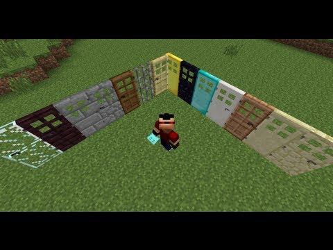 Minecraft MOD Puertas RE LOCAS Extra Doors