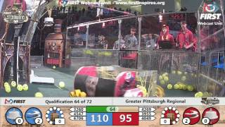 Qual 64 - 2017 Greater Pittsburgh Regional