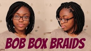 HOW TO: Bob Box Braids (Tight Roots)