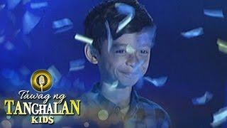 Tawag ng Tanghalan Kids: Keifer Sanchez on his second win