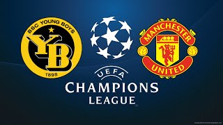 FIFA 18 BSC YOUNG BOYS VS MANCHESTER UNITED CHAMPIONS LEAGUE