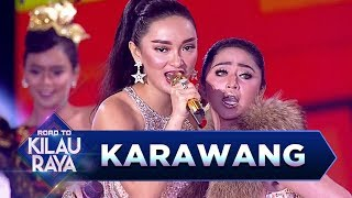 Karawang Pecah! Dewi Perssik feat Zaskia Gotik [TALAK TILU] - Road to Kilau Raya (18/3)
