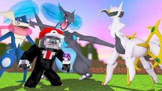 Minecraft: PIXELMON DARK - ENCONTREI O ARCEUS?! #4