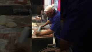 How to make bread in Iran !! shiraz