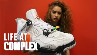 EXCLUSIVE SPIKE LEE AIR JORDAN 4 x DO THE RIGHT THING | #LIFEATCOMPLEX