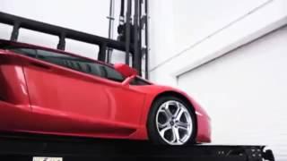 شاهد تكنولوجيا جراج السيارات فى اليابان - parking technology in Japan