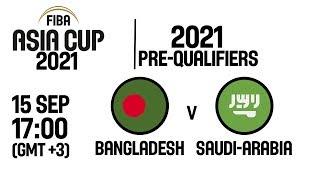 Bangladesh v Saudi Arabia - Full Game - FIBA Asia Cup 2021 Pre-Qualifiers 2019