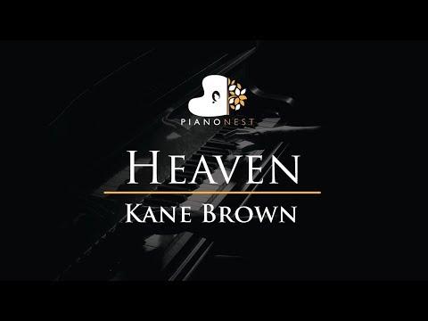 Kane Brown - Heaven - Piano Karaoke  Sing Along  Cover with Lyrics