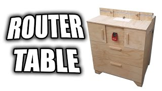 How to Make a Router Table