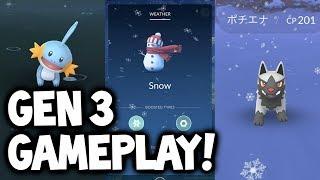 NEW GEN 3 EVOLUTIONS & LIVE POKÉMON GO GAMEPLAY!