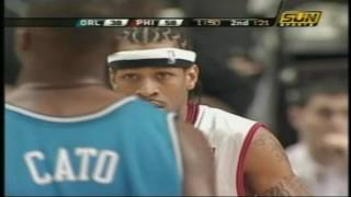 Allen Iverson vs Orlando Magic: 2.12.2005 Full Highlights - Career-High 60 points