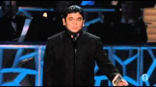 Ar Rahman Winning Original Score 2009 Oscars