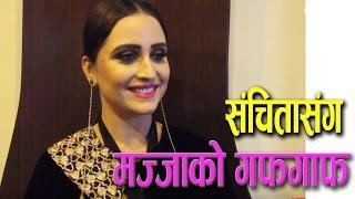 Mazzako Dashain Guff with Sanchita Luitel || नायिका संचिता लुईटेल || Mazzako TV