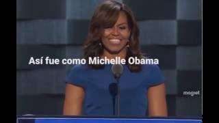El emotivo discurso de Michelle Obama en la Convención Demócrata Nacional