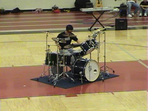 Number One Drum Solo The Best Ever CHS 2008 by RAC