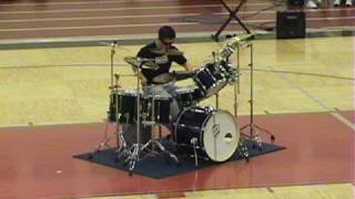 Number One Drum Solo - The Best Ever! CHS 2008 by RAC