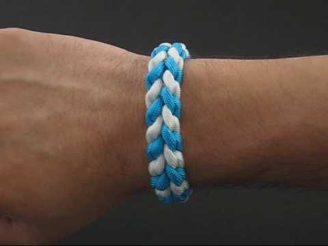 How to Make a Paracord River Bar Bracelet by TIAT