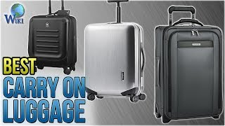 10 Best Carry On Luggage 2018