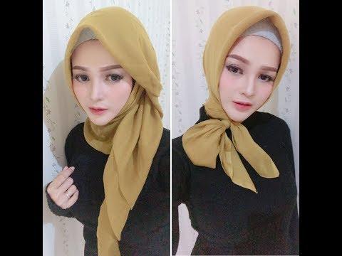Xxx Mp4 Hijab Segi Empat Simpel Trend 2018 Part 2 3gp Sex