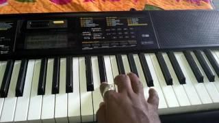 Khanderayachya lagnala song on piano