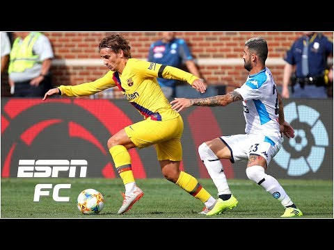 Antoine Griezmann nets first goal for Barcelona in Napoli rout ESPN FC