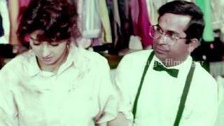 Kshana Kshanam Comedy Scenes - Brahmanandam irritated by Sridevi's behaviour - Venkatesh