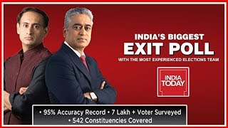 Decoding India Today Exit Poll Results 2019 With Rajdeep Sardesai & Rahul Kanwal