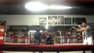 Dino an D.T at 3rd st boxing gym part 5 with trainer Paul Wade