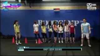 SENTINEL UPTOWN JYP Sixteen Ep 7 식스틴 7 회 150616