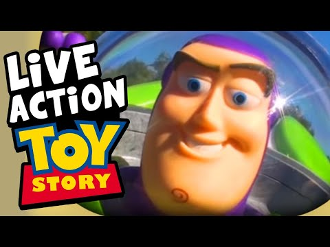 Toy Story Buzz Lightyear Commercial Re enactment