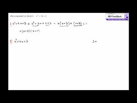 matematica - descompunere in factori