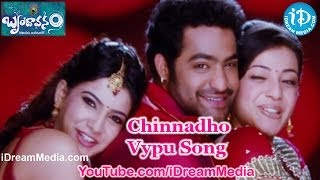 Chinnadho Vypu Song - Brindaavanam Movie Songs - Jr Ntr - Kajal Aggarwal - Samantha
