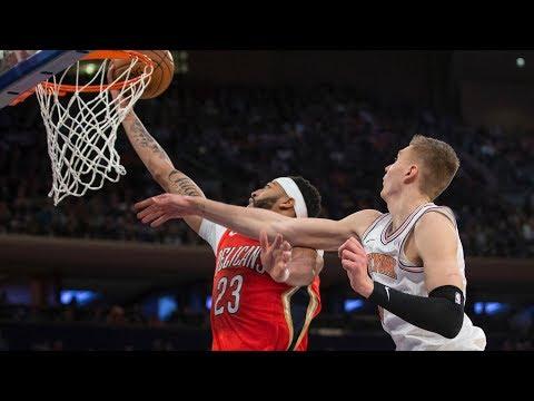 Xxx Mp4 Anthony Davis 48 Points Knicks Blew 19 Point Lead 2017 18 Season 3gp Sex