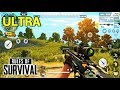 RULES OF SURVIVAL - NEW! ULTRA VERSION GAMEPLAY (Android) HD