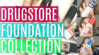 Drugstore Foundation Collection + Mini Reviews! | Simply Hope