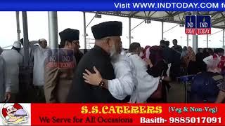 Mashayakheen see off Hajis of Golden Travels Hajj Group
