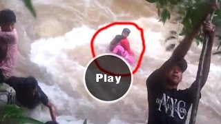 3 people almost die by waterfall at Kampot