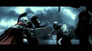 Epic Fight Scenes: #7 - 300 (King Leonidas vs. the Uber Immortal)