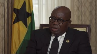 'Africa has a responsibility to its young people', Ghana's president says