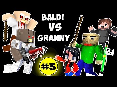 Xxx Mp4 Monster School BALDI S BASICS VS GRANNY CHALLENGE PART 3 Minecraft Animation Kids Mobs 3gp Sex