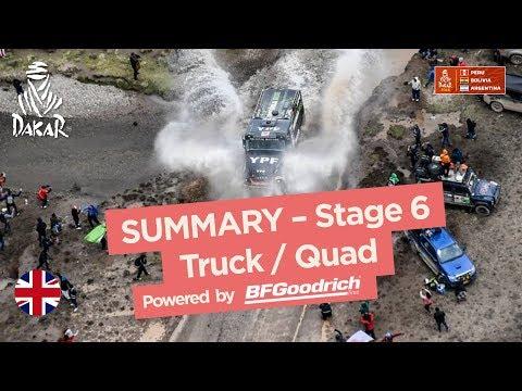 Xxx Mp4 Summary Truck Quad SxS Stage 6 Arequipa La Paz Dakar 2018 3gp Sex