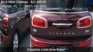 2016 MINI Clubman Cooper 4dr Wagon for sale in Orlando, FL 3
