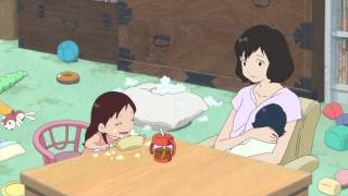 Wolf Children Official Clip -A Mother's Love (English)