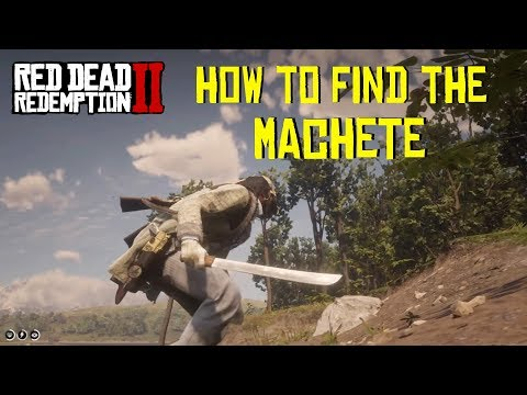 Xxx Mp4 Red Dead Redemption 2 How To Get And Unlock The Machete Location 3gp Sex